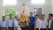 Tỉnh đoàn chúc mừng Giáng sinh và tổ chức các hoạt động ý nghĩa tại giáo xứ Đại Yên