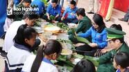 Ấm áp 'Tết ấm biên cương' tại Quế Phong