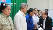 Đoàn đại biểu Quốc hội tỉnh thăm, tặng quà Tết tại Anh Sơn và Thanh Chương