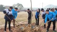 Hơn 500 thanh, thiếu niên tham dự Lễ phát động Tết trồng cây 'Đời đời nhớ ơn Bác Hồ'