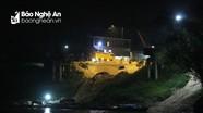 Cát tặc hoạt động xuyên đêm trên sông Lam