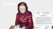 Người đàn bà 21 năm khiếu kiện đất đai ở Anh Sơn: Vẫn mỏi mòn chờ công lý