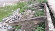 Sạt lở kè sông Lam nguy cơ mất đường dân sinh