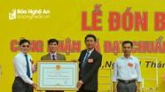 Phó Bí thư Tỉnh ủy trao Bằng công nhận xã Xuân Lâm, Nam Đàn đạt chuẩn nông thôn mới