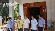 Đoàn ĐBQH tỉnh khảo sát việc thực hiện hỗ trợ xây dựng nhà ở đối với gia đình chính sách