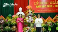 Trường Chính trị tỉnh Khai giảng năm học 2018-2019