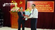 Công bố và trao Quyết định bổ nhiệm Bí thư Huyện ủy Diễn Châu