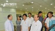 Giám sát công tác khám, chữa bệnh tại Bệnh viện Quốc tế Vinh