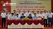 Đảng ủy Khối Doanh nghiệp tỉnh tiếp nhận 19 tổ chức đảng từ Điện lực các huyện, thành, thị