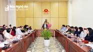 Cho ý kiến về kế hoạch triển khai sắp xếp các cơ quan báo chí tỉnh Nghệ An