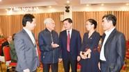 Phấn khởi, thân tình buổi gặp mặt của tỉnh Nghệ An với Hội đồng hương tại Hà Nội