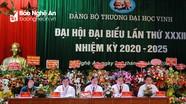 Đại hội đại biểu Đảng bộ Trường Đại học Vinh khóa XXXII, nhiệm kỳ 2020 - 2025
