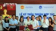 Ký kết thỏa thuận hợp tác giữa Trường Đại học Vinh và Trường Chính trị tỉnh