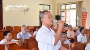 Cử tri huyện Hưng Nguyên đề xuất giữ lại chức danh Khuyến nông và Thú y cơ sở