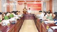 Đoàn đại biểu Quốc hội tỉnh Nghệ An lấy ý kiến góp ý Dự thảo Luật Cư trú (sửa đổi)