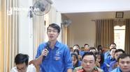 Đoàn viên, thanh niên Nghệ An góp ý vào dự thảo các văn kiện Đại hội XIII của Đảng