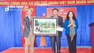 Trưởng Ban Tuyên giáo Tỉnh ủy dự Ngày hội Đại đoàn kết ở huyện Hưng Nguyên