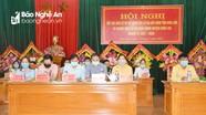Ứng viên đại biểu Hội đồng nhân dân tỉnh tiếp xúc cử tri huyện Anh Sơn