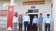 Phó Chủ tịch UBND tỉnh kiểm tra công tác bầu cử tại điểm bầu cử sớm