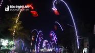 Dân bản vùng cao Nghệ An đầu tư tiền triệu dựng cây nêu, sáng đèn đón Tết