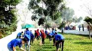 500 đoàn viên huyện Quế Phong tham gia ra quân Tháng Thanh niên 2018