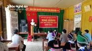Khai giảng lớp xóa mù chữ cho chị em phụ nữ vùng sâu