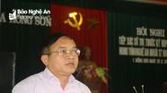 Đại biểu HĐND tỉnh tiếp xúc cử tri tại Đô Lương