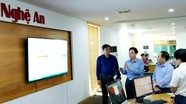 Ban Tổ chức Trung ương tìm hiểu việc thực hiện Nghị quyết Trung ương 6 tại Báo Nghệ An