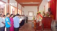 Yên Thành, Thái Hòa tổ chức dâng hương tưởng niệm Chủ tịch Hồ Chí Minh