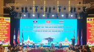 Nghệ An tham dự hội nghị cấp cao 3 nước 9 tỉnh Việt Nam - Lào - Thái Lan
