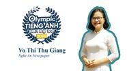 Phần thi Olympic Tiếng Anh dành cho cán bộ trẻ toàn quốc của phóng viên Báo Nghệ An