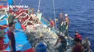Tàu cá nghề vây ở Quỳnh Lưu 'đói' lao động