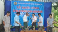 Khởi công xây dựng nhà tình nghĩa cho gia đình thương binh ở Nam Đàn