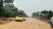 Đề nghị thành phố Vinh sớm hoàn thành giải phóng mặt bằng đường Vinh - Cửa Lò