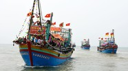Ngư dân Nghệ An đánh cá ở vùng biển Hoàng Sa, Trường Sa
