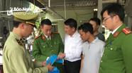 Chủ lò mổ lợn ở Nghệ An sản xuất khẩu trang y tế giả