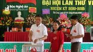 Đại hội Đảng bộ xã Tân Long (Tân Kỳ) nhiệm kỳ 2020 - 2025