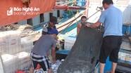 Vươn khơi đánh bắt mùa nắng nóng, ngư dân Nghệ An trúng đậm hải sản