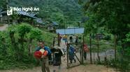 Lo sạt lở đất, Kỳ Sơn tiếp tục sơ tán hàng trăm hộ dân