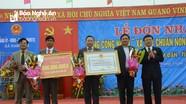 Xã Nam Lĩnh ( Nam Đàn) đón Bằng công nhận đạt chuẩn Nông thôn mới
