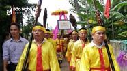 Thanh Chương: Đón nhận bằng di tích lịch sử văn hóa cấp tỉnh nhà thờ họ Lê Văn