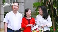 Báo Nghệ An thăm, tặng quà cán bộ, phóng viên nghỉ hưu nhân dịp 58 năm ngày thành lập cơ quan