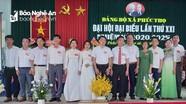 Đại hội Đảng bộ xã Phúc Thọ lần thứ XXI, nhiệm kỳ 2020 - 2025