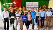 Hội hỗ trợ gia đình liệt sỹ tỉnh tặng quà Mẹ Việt Nam anh hùng, gia đình chính sách