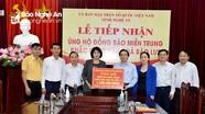 Nghệ An: Hơn 47 tỷ đồng đăng ký ủng hộ đồng bào vùng lũ miền Trung