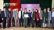 Trao 70 triệu đồng hỗ trợ xây nhà tình nghĩa ở Nghi Lộc  