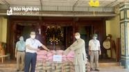 Chùa Vĩnh Phúc trao quà hỗ trợ lực lượng phòng, chống dịch Covid-19