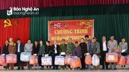 Đoàn đại biểu Quốc hội tặng quà Tết gia đình chính sách và hộ nghèo