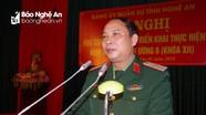 Đảng ủy Quân sự tỉnh quán triệt Nghị quyết Trung ương 6 (Khóa XII)