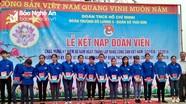 Kết nạp 88 đoàn viên dưới mái đình Long Thái